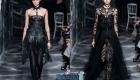 Четный тотал лук Christian Dior от-кутюр осень-зима 2019-2020