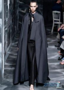 плащ-накидка Christian Dior осень-зима 2019-2020 коллекция от-кутюр