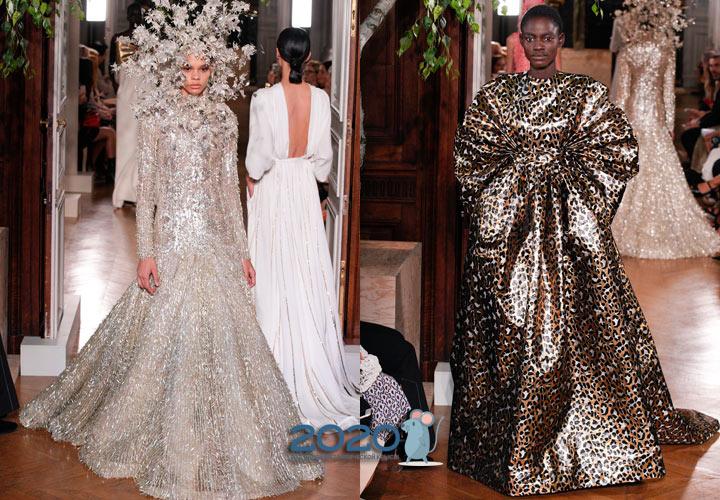 Блестящие луки коллекции Couture от Валентино на 2020 год