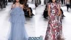 платье с перьями от Givenchy от-кутюр осень-зима 2019-2020