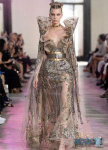Платье Elie Saab осень-зима 2019-2020 от-кутюр