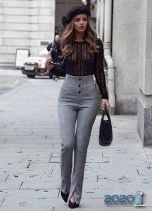 Классические брюки для базового гардероба осень-зима 2019-2020