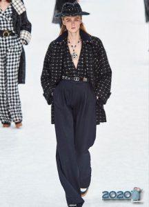 Широкие брюки для базового гардероба осень-зима 2019-2020