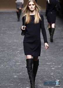 Черное платье в базовом гардеробе осени и зимы 2019-2020 года