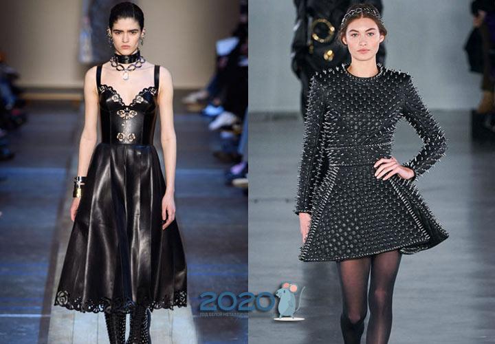 Альтернативные модели черного платья на 2020 год