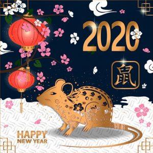 Картинки на Новый Год 2020 - год Крысы