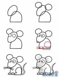 Учимся рисовать крысу