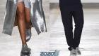 Модные серебристые кроссовки осень-зима 2019-2020