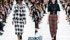 Модная клетка коллекции Диор осень-зима 2019-2020