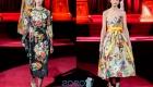 Модные цветочные мотивы сезона осень-зима 2019-2020