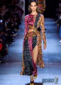 Платье в стиле пэчворк и другие модные принты на 2020 год