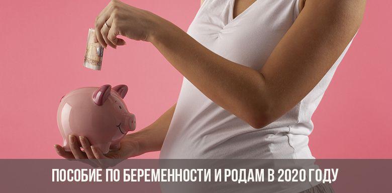 Пособие по беременности и родам в 2020 году