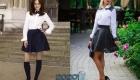 Трендовые модели школьных юбок на 2019-2020 учебный год