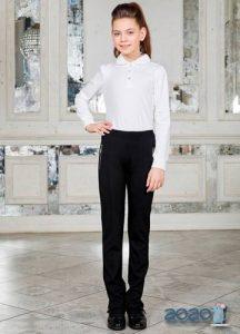 Классические брюки в школу для девочки на 2020 год