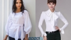 Модные школьные блузки на 2020 год