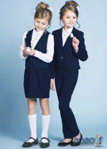 Школьный костюм для девочки на 2019-2020 учебный год