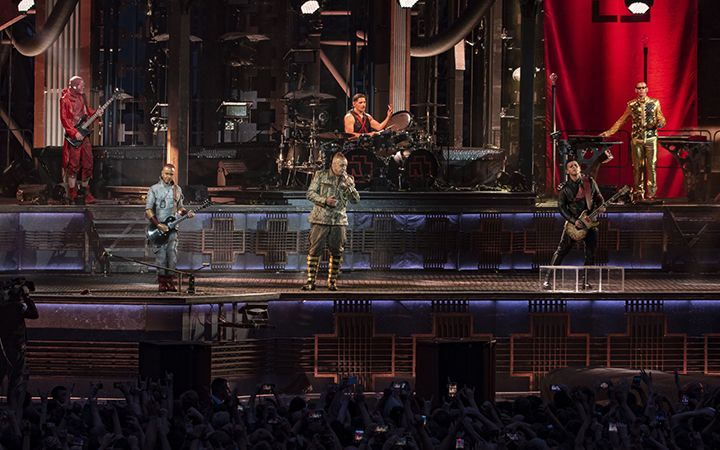 Тур Rammstein в 2020 году
