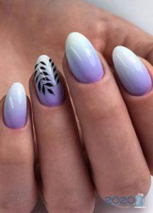 Дизайн ногтей с омбре на 2020 год