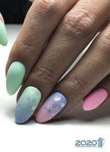 Модный дизайн ногтей с омбре на 2020 год
