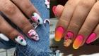 Яркий дизайн ногтей на весну и лето 2020 года