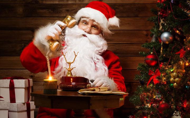 Звонок от Деда Мороза на Новый Год 2020