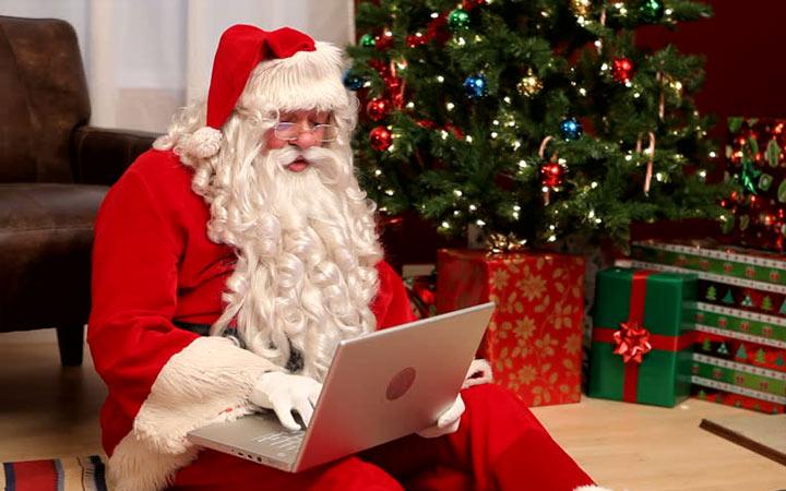 Электронное письмо от Деда Мороза на Новый Год 2020