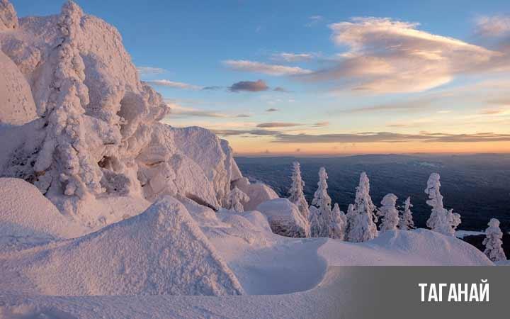 Челябинская область, национальный парк Таганай зимой