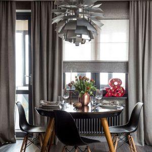 Креативные шторы в кухню - мода 2020 года