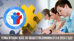 Темы и план эссе по обществознанию ЕГЭ в 2020 году