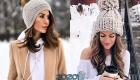 Модная шапка с помпоном осень-зима 2019-2020