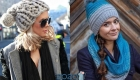 Модная шапка осень-зима 2019-2020 с помпоном