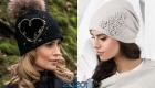 Модный декор вязаных шапок в 2019-2020 году