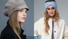 Вязаные шапки и кепи на 2020 год