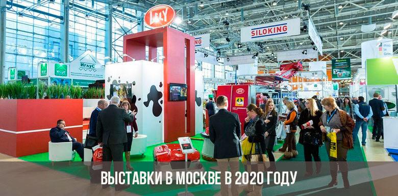 Выставки в Москве в 2020 году: расписание