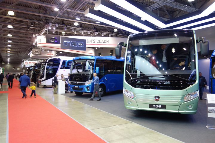 Международный автобусный салон «Busworld Russia»