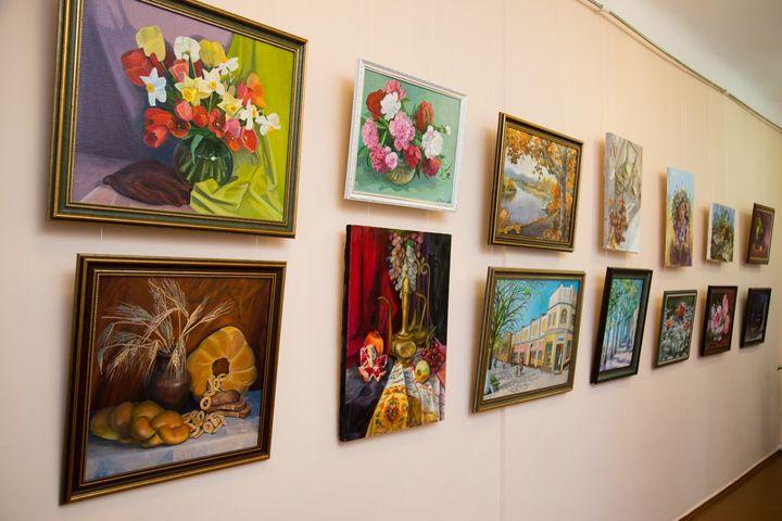 Художественная выставка в Москве