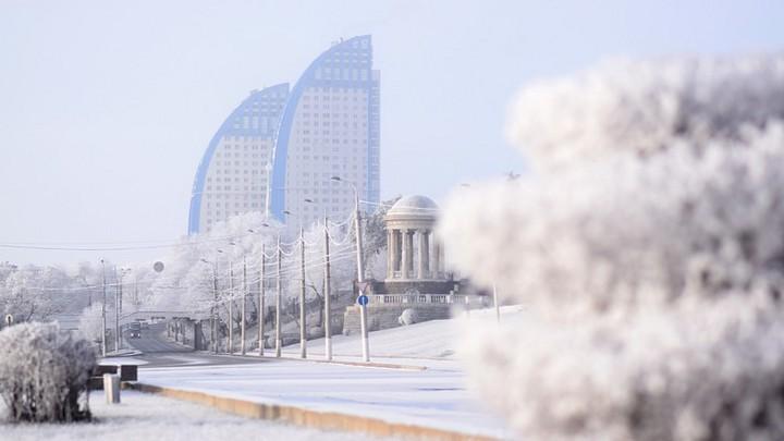 зимний Волгоград