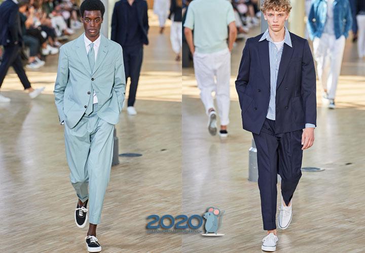 Модные мужские кеды - тренды сезона весна-лето 2020