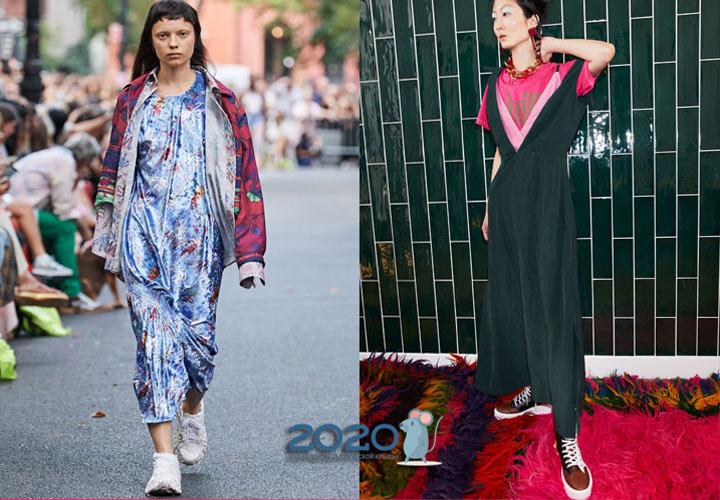 Модные кроссовки со шнуровкой на 2020 год