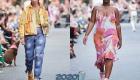 Цветные женские кроссовки весна-лето 2020