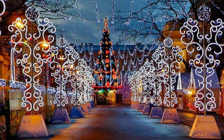Новогодние ярмарки в Питере