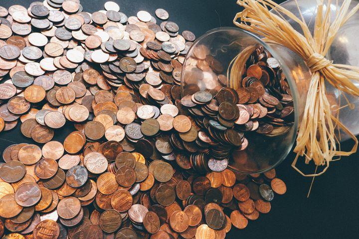 Рассыпавшиеся монеты