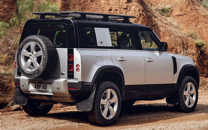 Технические характеристики Land Rover Defender 2020