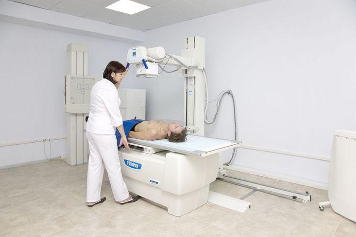 Работник рентгенкабинета