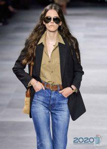 Классическая блуза - женская мода весна-лето 2020