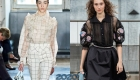 Модная прозрачная блузка весна-лето 2020
