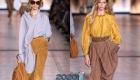 Модная асимметрия - блузки весны 2020 года