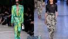 Самые интересные принты для модных брюк весна-лето 2020