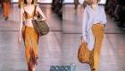 Модные брюки из замши весна-лето 2020