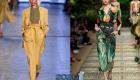 Модные брюки с высокой талией сезона весна-лето 2020